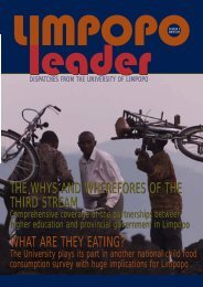 Limpopo Leader winter 05-inside - University of Limpopo