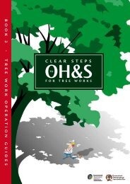 Tree work operation guides
