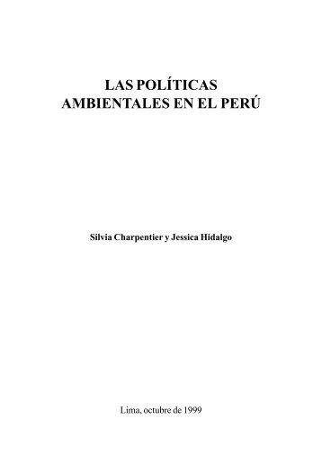 Título: Las políticas ambientales en el Perú - CDAM