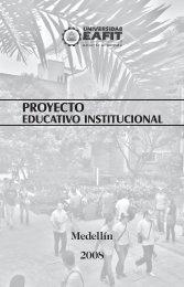 Descargue el Proyecto Educativo Institucional - Universidad EAFIT