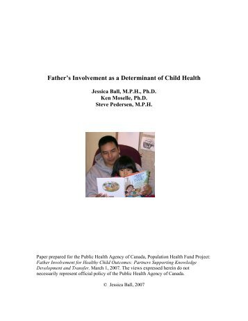 ball father involvement as a determinant of child health pdf