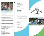Day Camp for Children with Chronic Asthma ... - Sansum Clinic