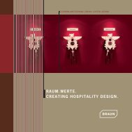 Raum.werte. Creating Hospitality Design.