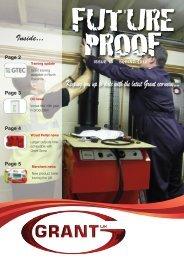 Grant Future Proof Magazine - Issue 13 Spring 2012 - Grant UK