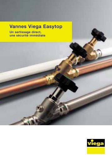 Brochure Vannes Viega Easytop