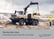 El camión todoterreno para la construcción. - Mercedes-Benz España