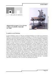 [pdf] Fiche objet : Presse métallique à un coup de Lord C. Stanhope ...