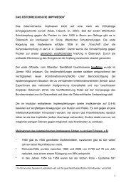 1 DAS ÖSTERREICHISCHE IMPFWESEN1 Das österreichische ...
