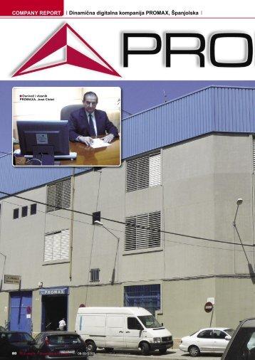 COMPANY REPORT Dinamična digitalna kompanija PROMAX ...