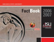 2006-2007 - Arkansas State University