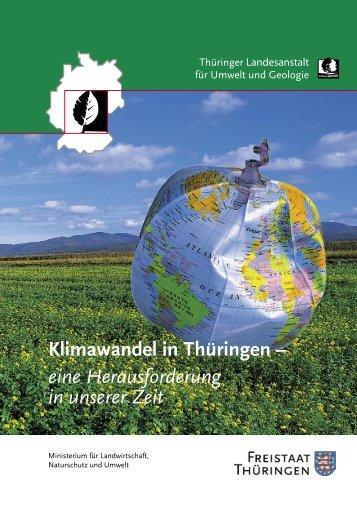 Klimawandel in Thüringen - Thüringer Landesanstalt für Umwelt und ...