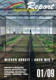 Heft 1/2009 Themen u.a.: Wieder Arbeit, aber wie? - Regenbogen ...