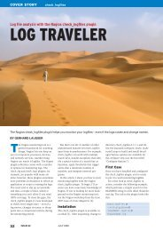 LOG TRAVELER - Linux Magazine