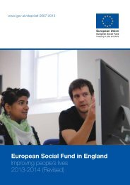esf-in-england-improving-peoples-live