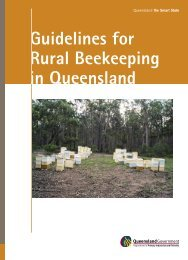 Guidelines For Rural Beekeeping In Queensland