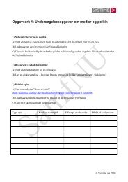 Undersøgelsesopgave til medier.pdf - SamfNU - Systime
