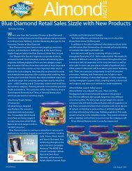 Blue Diamond Retail Sales Sizzle With New Products