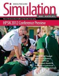 Healthcare Simulation News: Winter 2012 - Human Patient ...