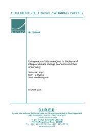 DT/WP No 2008-07 - Centre International de Recherche sur l ...