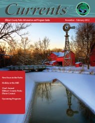 November – February 2012 Elkhart County Parks Information And