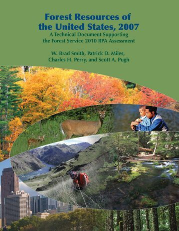 State of the US Forests 2007 - Natural Resource Ecology and ...