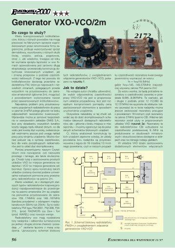 Generator VXO-VCO/2m (260KB) - Elportal