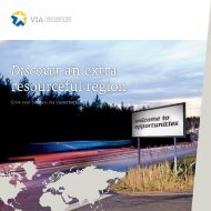 Discover an extra resourceful region - Västerbotten Investment Agency