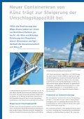 Trimodaler Containerkran Container Terminal Enns (CTE), Österreich - Page 2