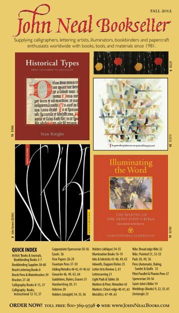 LOW RESOLUTION (7.5MB) JNB Catalog Fall 2012