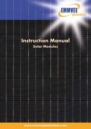 PDF (950 KB) - EMMVEE - photovoltaics