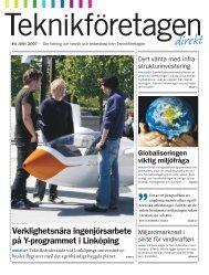 Teknikföretagen Direkt nr 4 2007