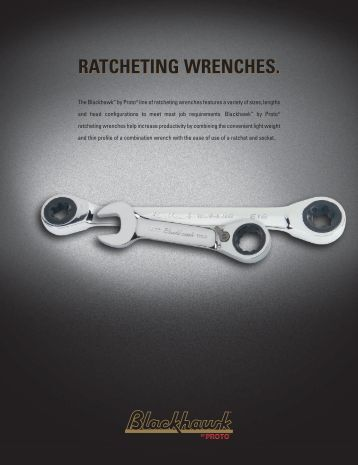 Blackhawk by Proto Catalog - Ratcheting Wrenches - Eoss.com