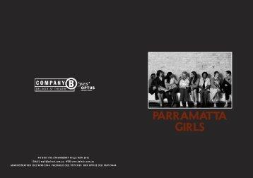 Parramatta Girls - Belvoir St Theatre