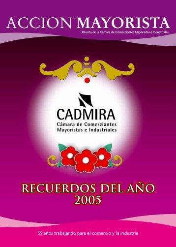 Recuerdos del año 2005 Recuerdos del año 2005 ... - CADMIRA