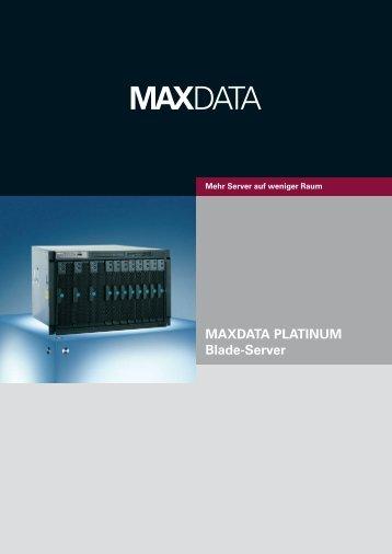 MAXDATA PLATINUM Blade-Server