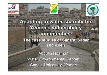 NCAP Yemen