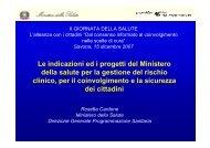 sicurezze - Azienda Sanitaria Locale n° 2 Savonese