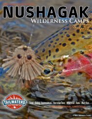 WildERNESS CAMPS - Tailwaters Fly Fishing Co.