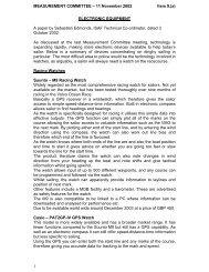 MEASUREMENT COMMITTEE – 11 November 2002 Item 9.(a) 1 ...