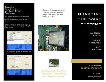 guardian software systems