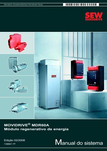Manual do sistema - SEW-Eurodrive