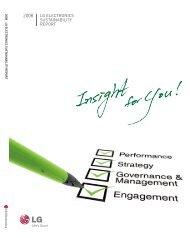 2008 LG ELEctronics SustainabiLity REport - CSR NEWS