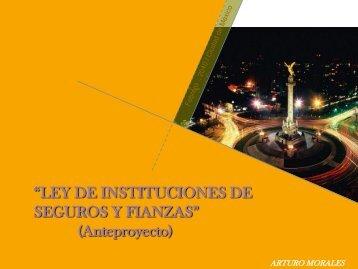 """""""LEY DE INSTITUCIONES DE SEGUROS Y FIANZAS ... - IMEF"""