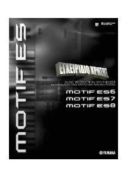 Γρήγορος οδηγός – Παίξιµο στο MOTIF ES
