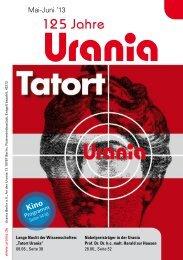 März-April '13 Mai-Juni '13 - Urania