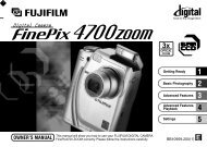 FinePix 4700 ZOOM OWNER'S MANUAL