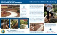 Reduce Water Use with Water Wise Gardening ... - American Water