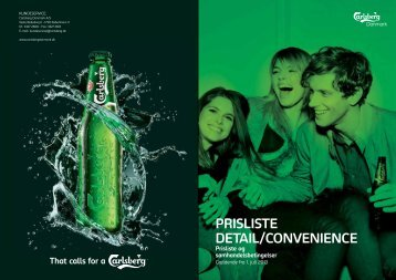 Prislister for Off Trade (juli 2013) - Carlsberg