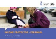 Income Protection - Irish Life