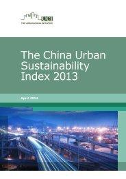 The-China-urban-sustainability-index-2013